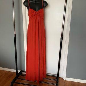 NWT Forever 21 burnt orange maxi dress (6/$14)